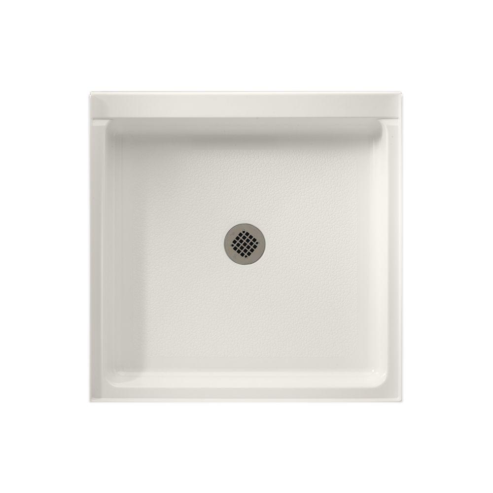 Veritek 32 in. x 32 in. Single Threshold Shower Pan in
