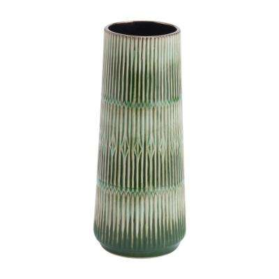 Green Nopal Small Decorative Vase