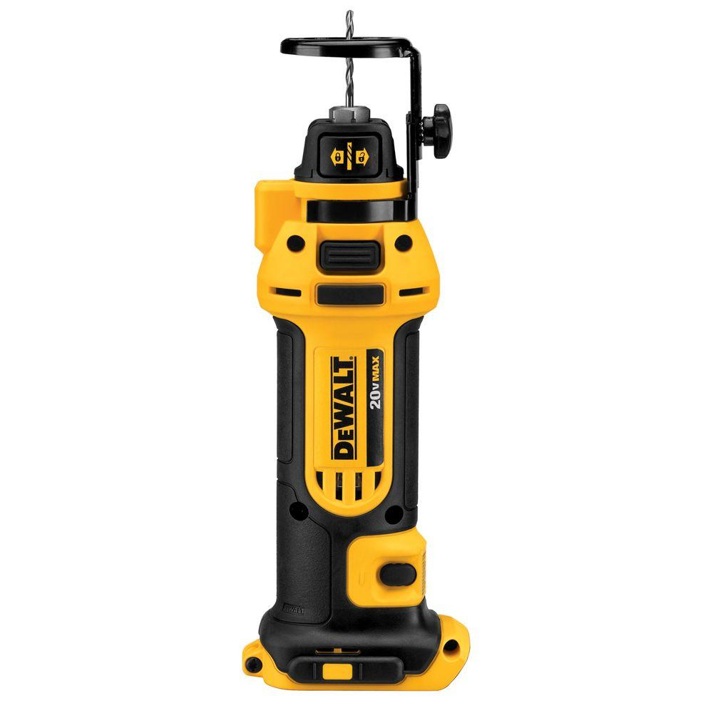 DEWALT 20-Volt MAX Lithium-Ion Cordless Drywall Cut-Out Tool (Tool-Only)