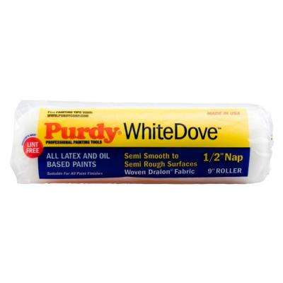 WhiteDove 9 in. x 1/2 in. Paint Roller Cover (Case of 15)