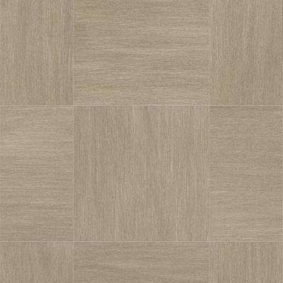 Woven Grey Tile 13.2 ft. Wide x Your Choice Length Residential Sheet Vinyl Flooring