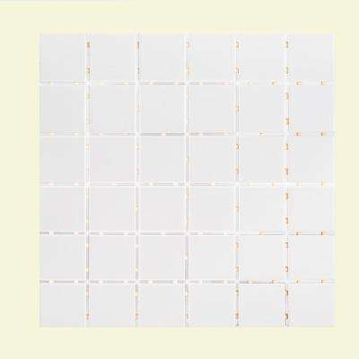 Classic 11-7/8 in. x 11-7/8 in. x 6 mm Porcelain Mosaic Tile