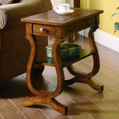 Bates Warm Brown End Table