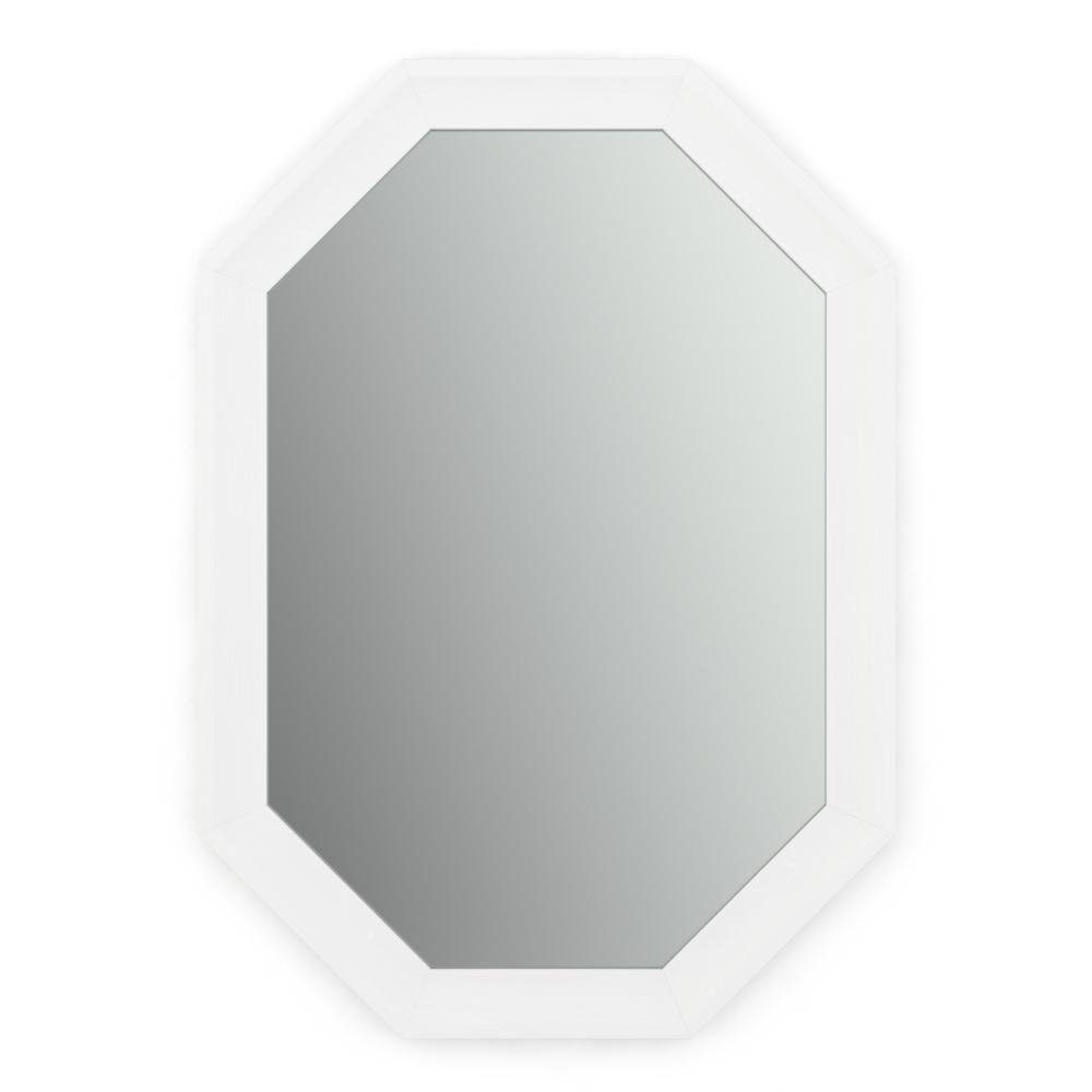 33 in. x 46 in. (L3) Octagonal Framed Mirror with Standard