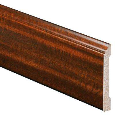 1/2 in. x 4-3/16 in. x 96 in. Polystyrene Mahogany Base Moulding (5-Pack)