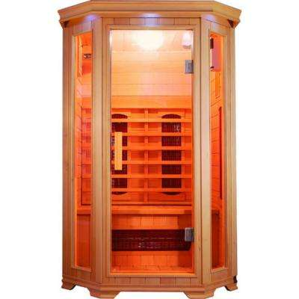 Contemporary Design 2-Person Infrared Sauna