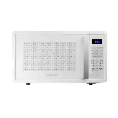 Pro 1.1 cu. ft. 1000-Watt Countertop Microwave Oven in White