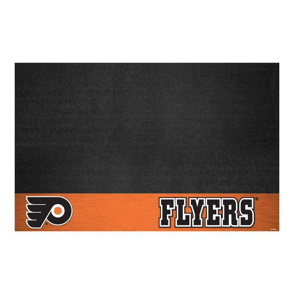 Philadelphia Flyers 26 in. x 42 in. Grill Mat