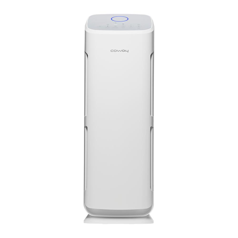 Coway Mighty Tower True Hepa And Activated Carbon Air Purifier Ap 1216l The Home Depot