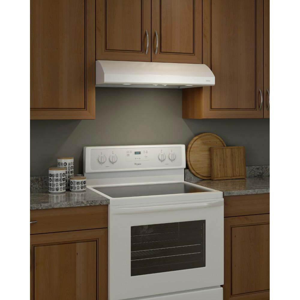 Nutone Osmos 30 In Convertible Under Cabinet Range Hood With Light