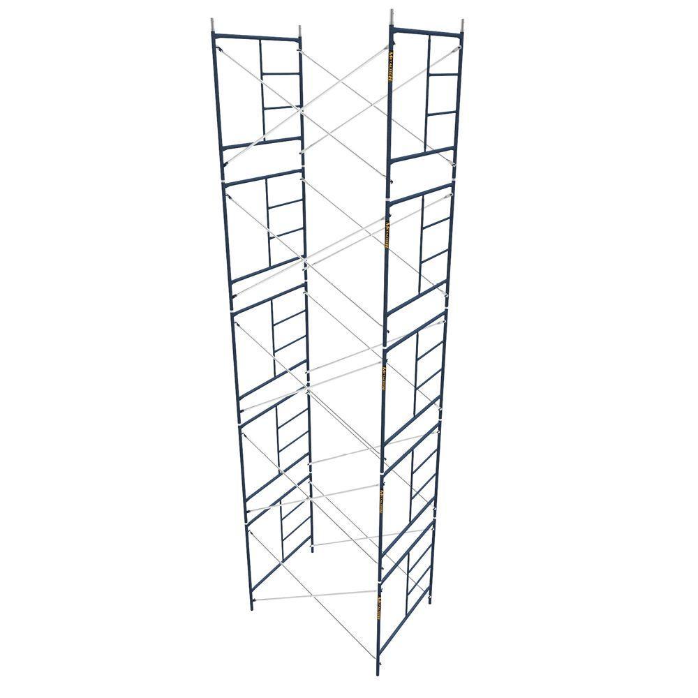 MetalTech Saferstack 5 ft. x 7 ft. x 5 ft. Mason Scaffold (Set of 5) by MetalTech