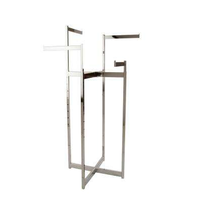 Chrome Metal Clothes Rack (32 in. W x 72 in. H)