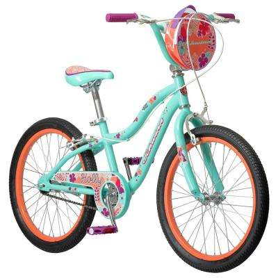 20 in. Girl's Bike for Ages 10-Years and Up in Mint