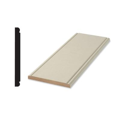 WP 959H 7/16 in. x 4-1/2 in. x 96 in. Primed Finger-Jointed Chair Rail Backer Moulding