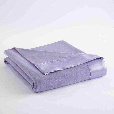 King Amethyst Year Round Polyester Sheet Blanket
