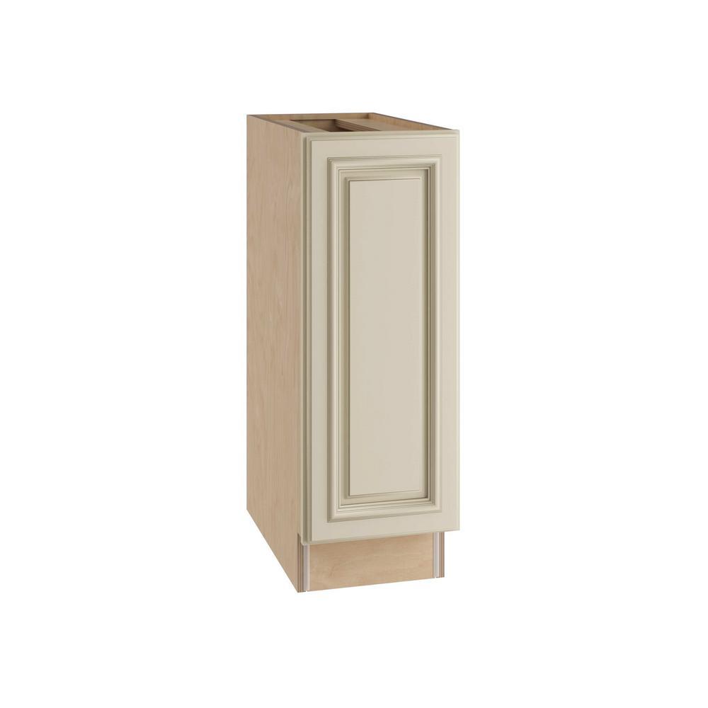 Home Decorators Collection Holden Assembled 12x34.5x21 in. Single Door Hinge Left Base Vanity Cabinet in Bronze Glaze