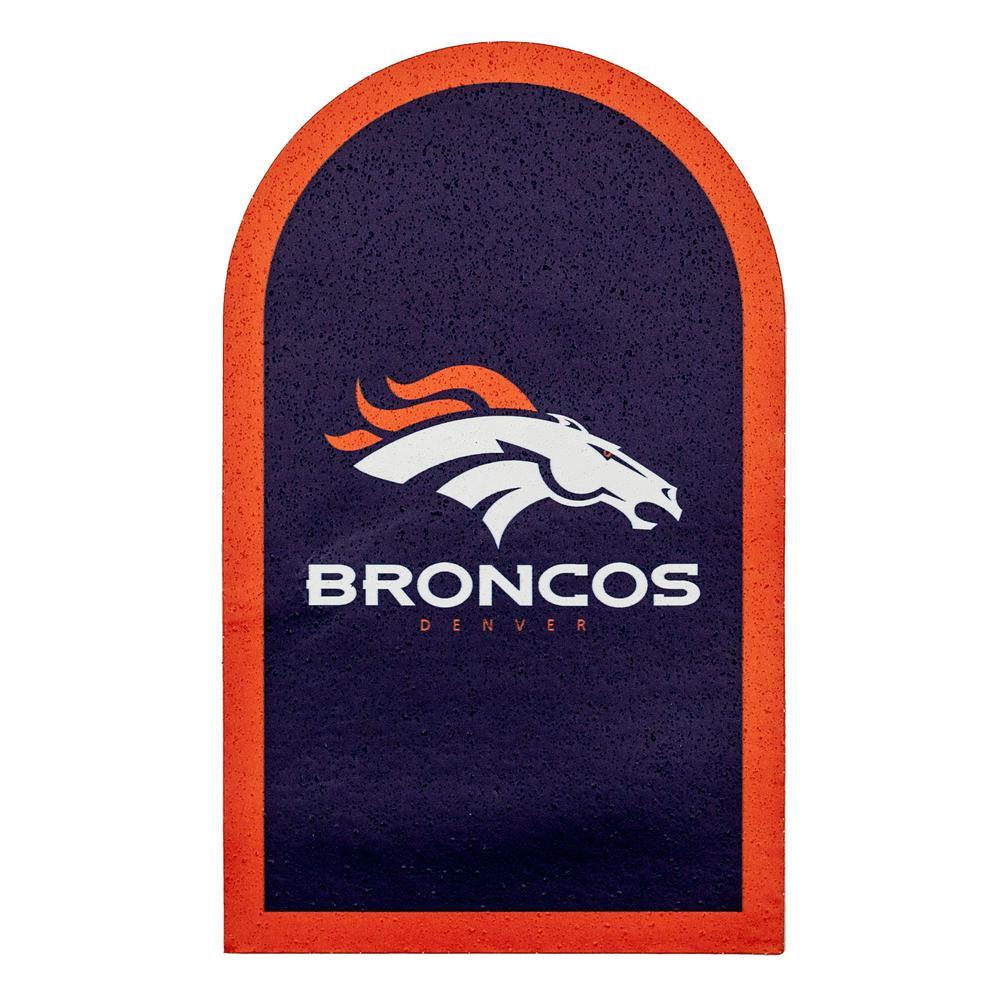 NFL Denver Broncos Mailbox Door Logo Graphic