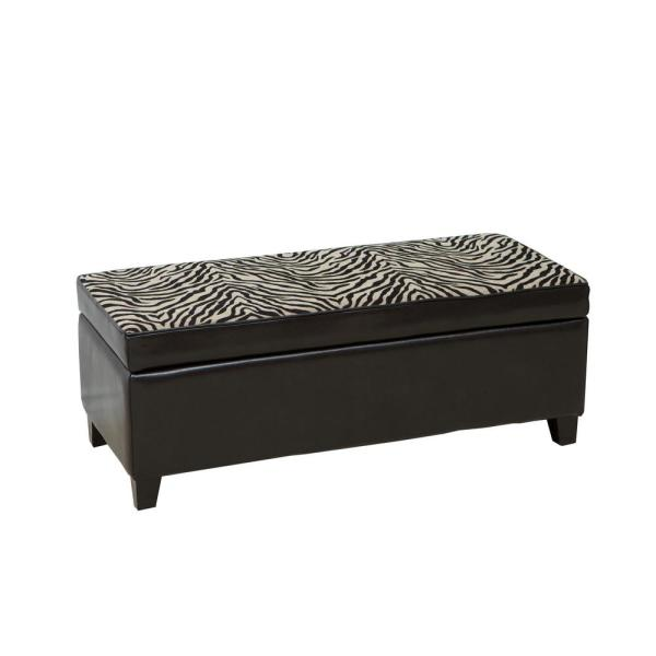 Peachy Home Decorators Collection Ethan Brown Storage Ottoman Gmtry Best Dining Table And Chair Ideas Images Gmtryco