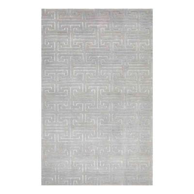 Surrey Mist 5 ft. x 8 ft. Hand Knotted Area Rug