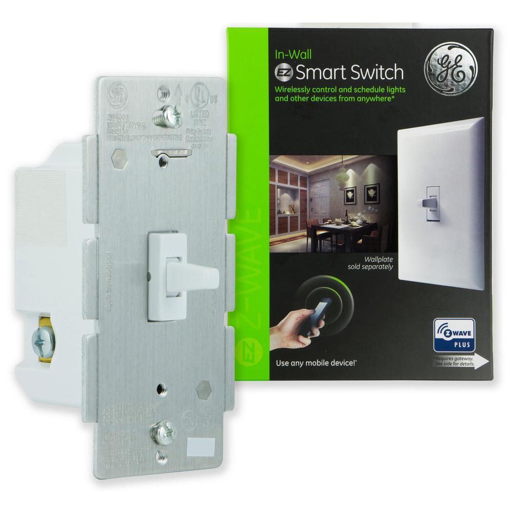 GE Z-Wave Plus Wireless Smart Lighting Control Motion Switch-26931