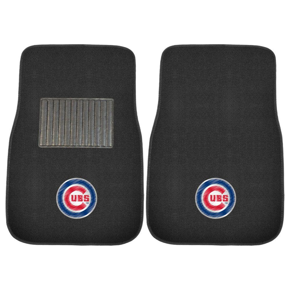 Fanmats Mlb Chicago Cubs 2 Piece 17 In X 25 5 In Carpet