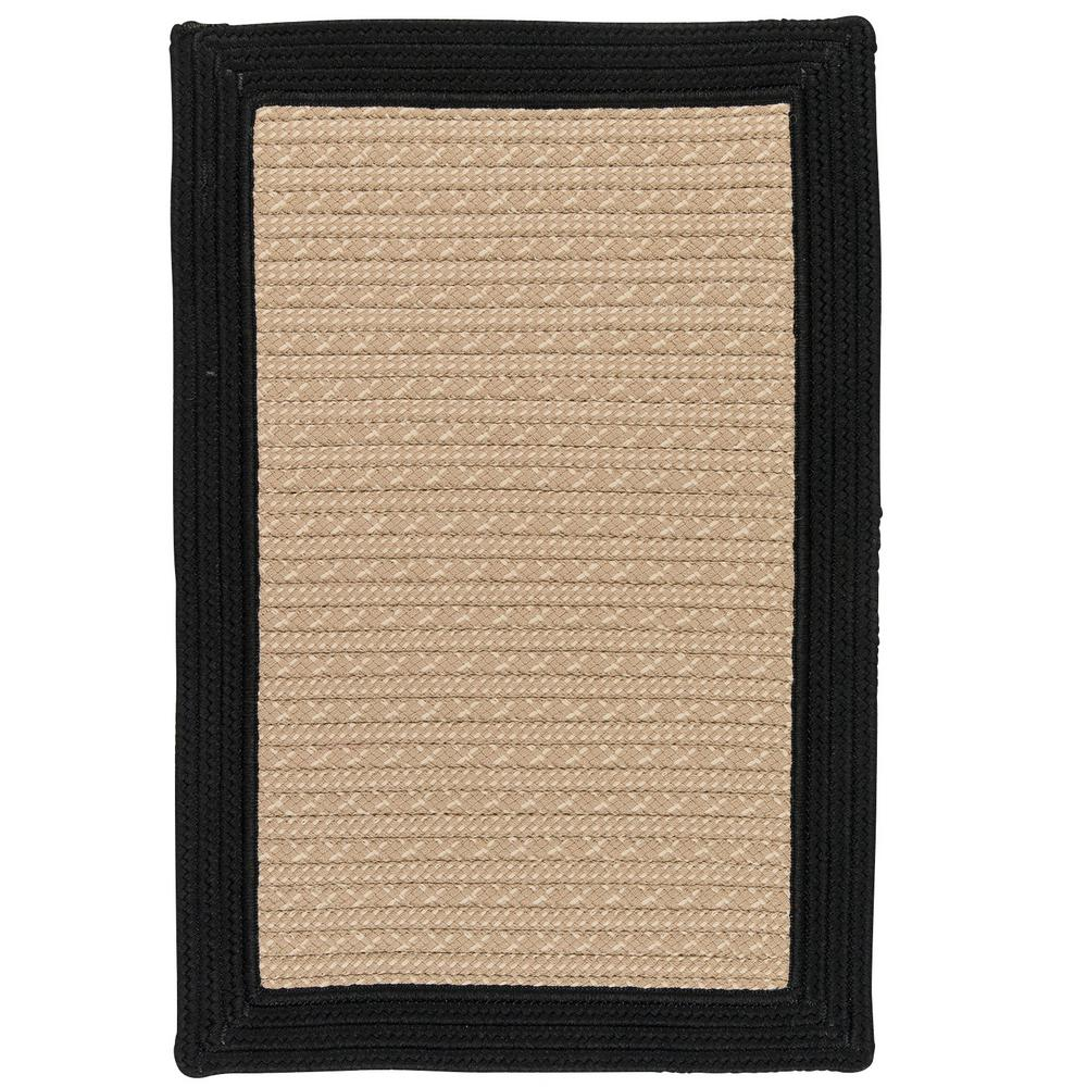 Home decorators collection beverly black 9 ft x 12 ft for Home decorators indoor outdoor rugs