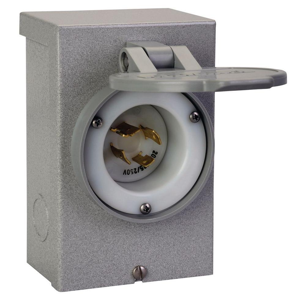 20-Amp Power Inlet Box,