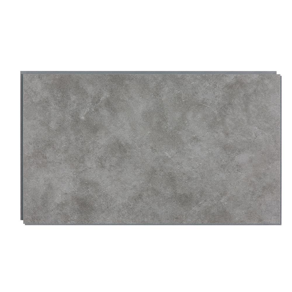 14.76 in. x 25.59 in. Smoked Steel Wall Tile Backsplash