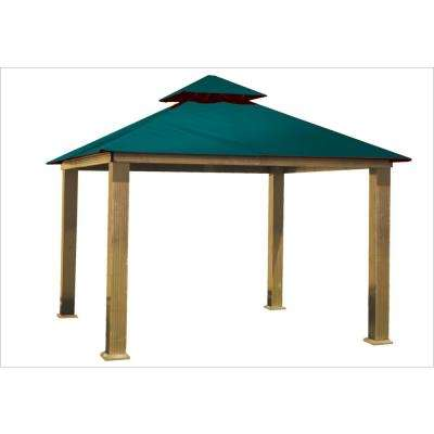 12 ft. x 12 ft. Oz Green Gazebo