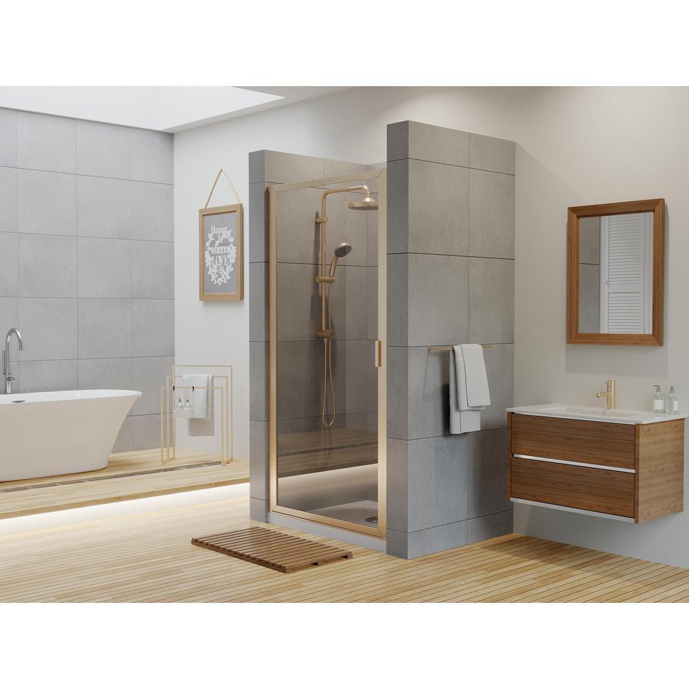 Coastal Shower Doors Paragon Series 35 In X 69 In Framed