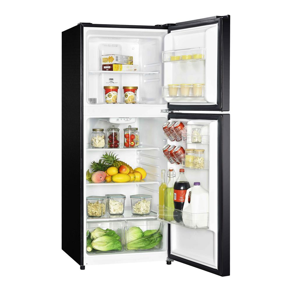 10.1 cu. ft. Top Freezer Refrigerator in Black