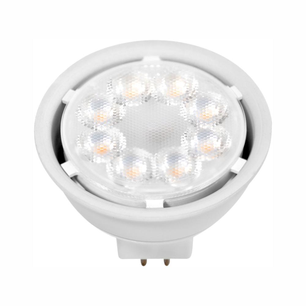 Euri Lighting 50W Equivalent Warm White (2700) MR16 Dimmable MCOB LED Flood Light Bulb