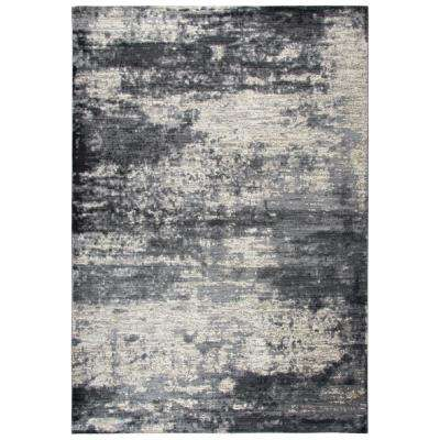 Panache Light Blue 9 ft. 10 in. x 12 ft. 6 in. Area Rug