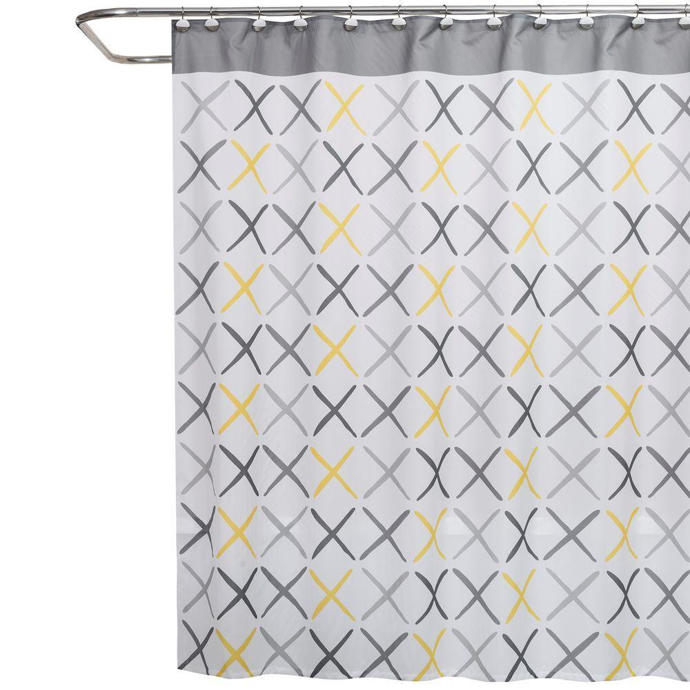 Saturday Knight Gen X 70 inch W x 72 inch L Fabric Shower Curtain by Saturday Knight