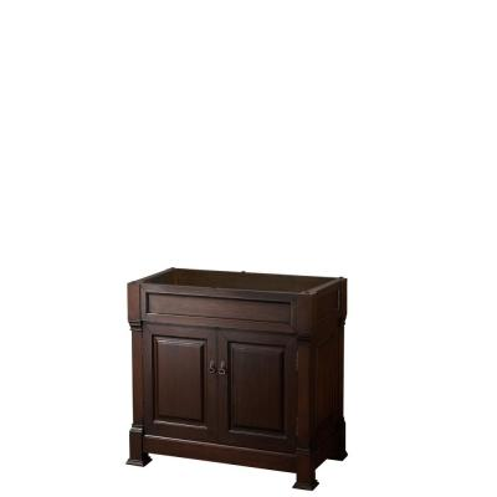 Andover 36 in. W x 22.25 in. D Bath Vanity Cabinet Only in Dark Cherry