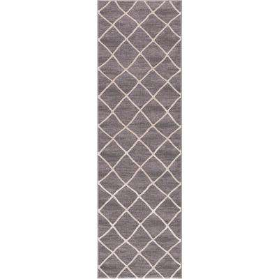 Prestige Ivory-Gray 2 ft. 3 in. x 7 ft 3 in. Runner