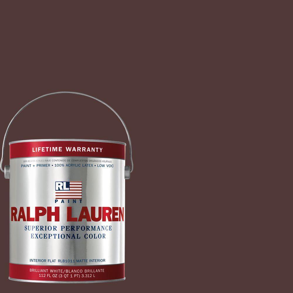 Ralph Lauren 1-gal. Red Damask Flat Interior Paint