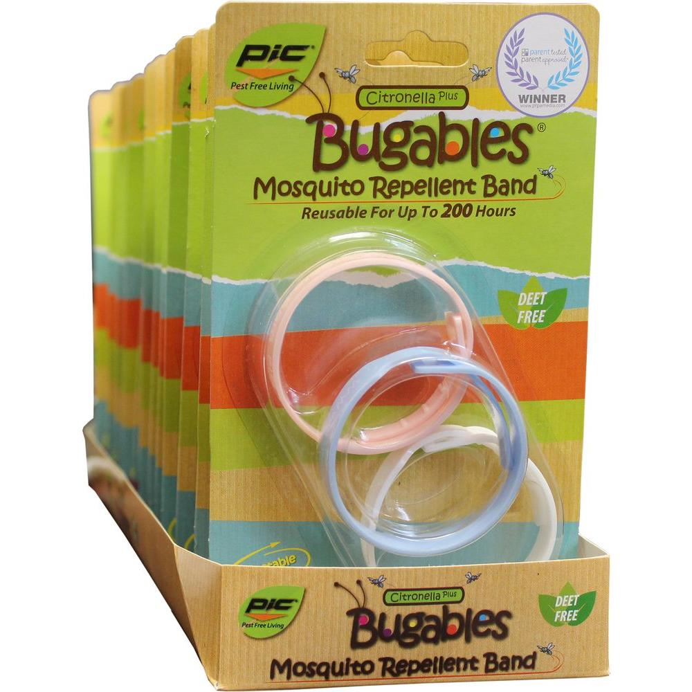 Bugables Repellent Wristbands 6 Pack 36 Bands