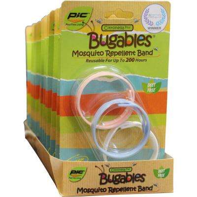 Bugables Repellent Wristbands (6-Pack, 36-Bands)