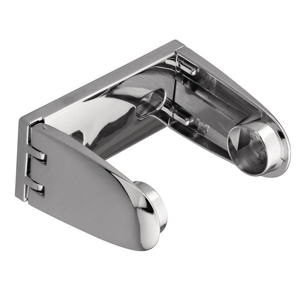 Donner Premier Single Post Toilet Paper Holder in Chrome