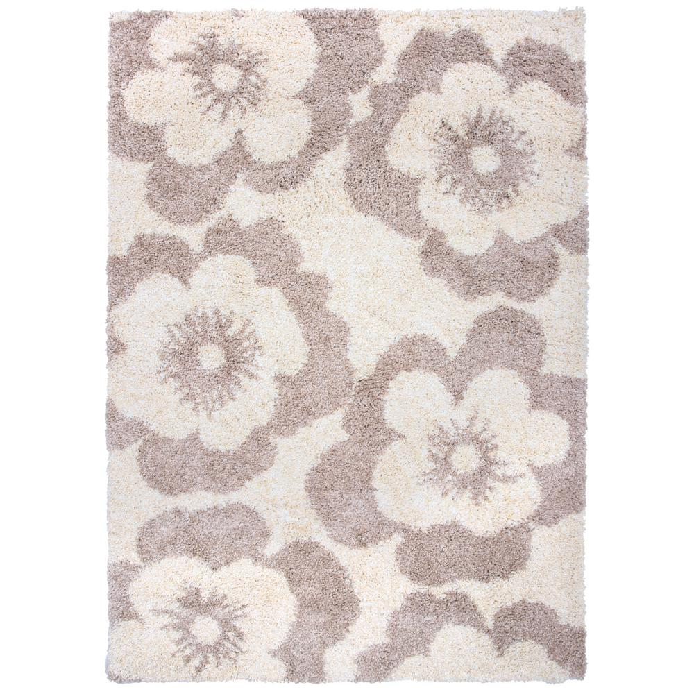 World Rug Gallery Florida Turquoise Area Rug Reviews: World Rug Gallery Contemporary Flowers Soft Plush Shag 5