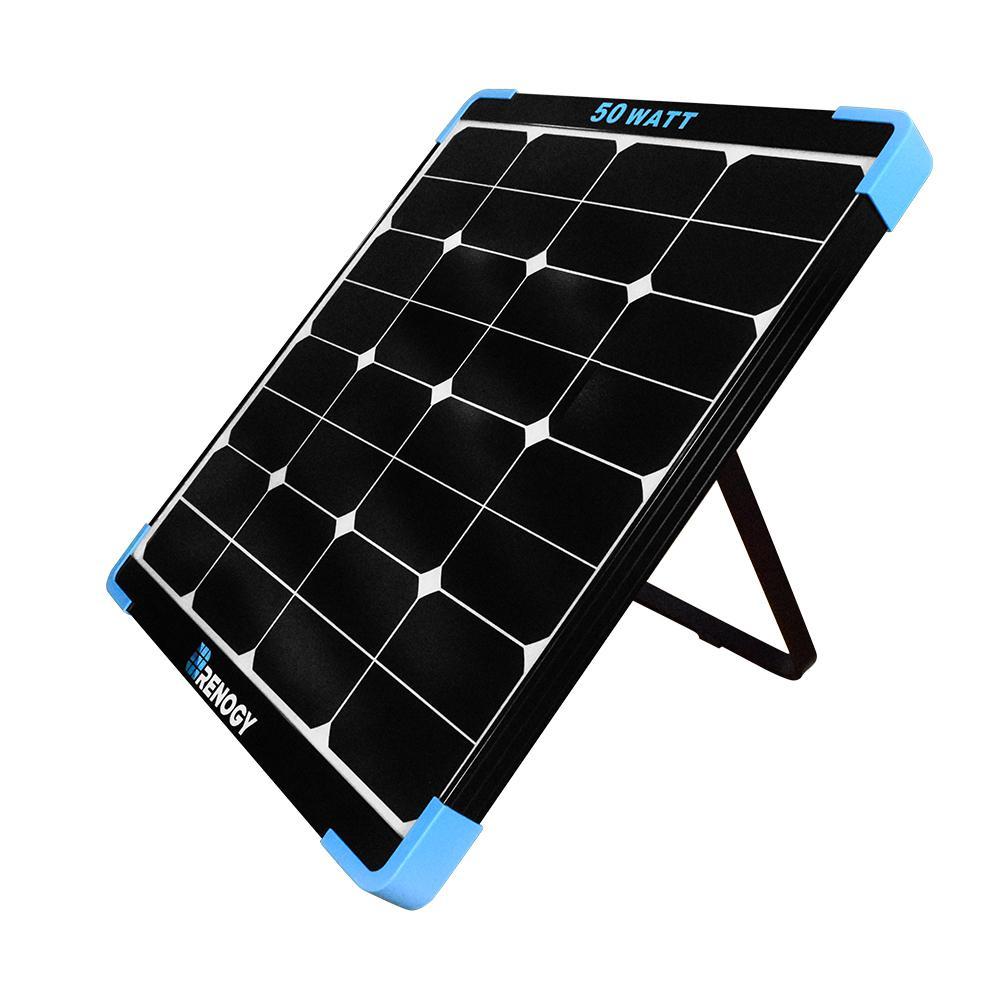 Mini Eclipse 50-Watt Monocrystalline Solar Panel