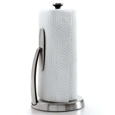 Good Grips SimplyTear Tension Arm Paper Towel Holder in Stainless Steel