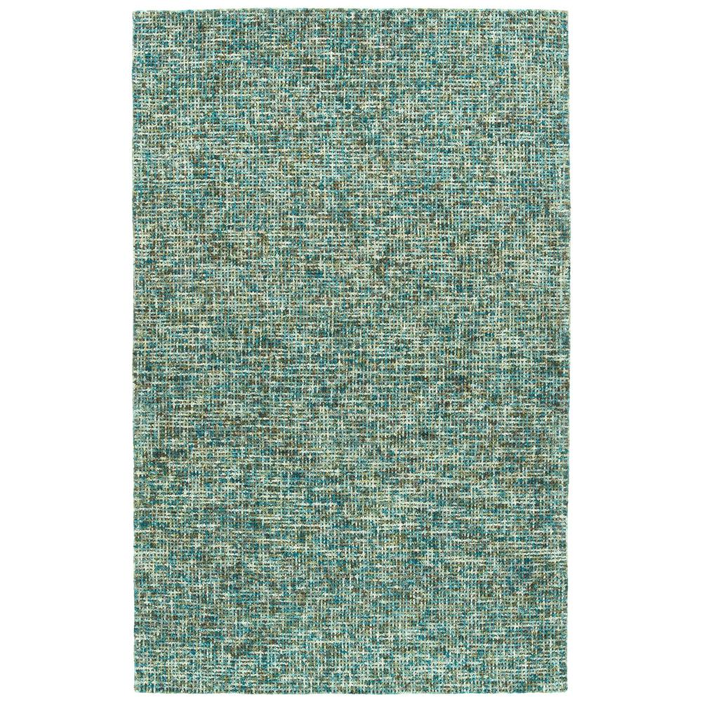 Kaleen Lucero Teal 9 ft  6 in  x 13 ft  Area Rug