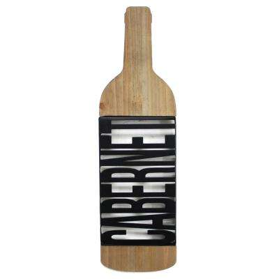 Tinley Cabernet Wooden Sign