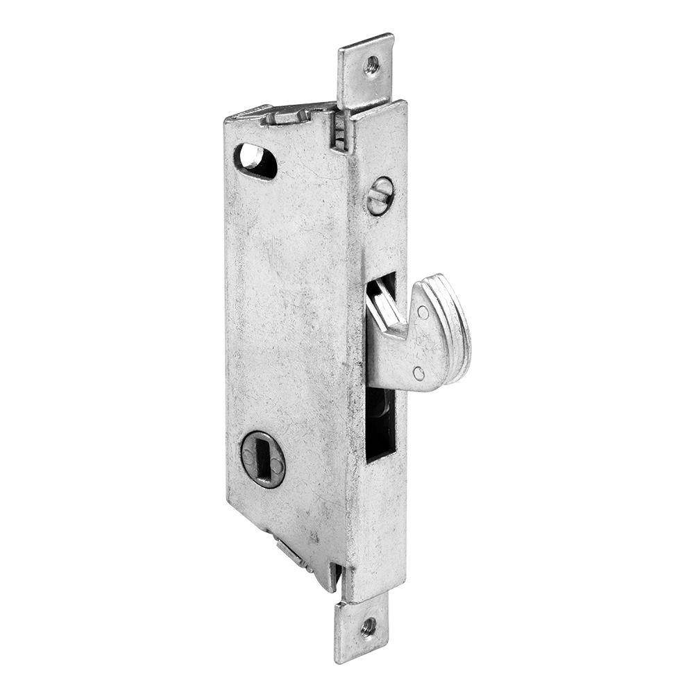 Lockit Black White Double Bolt Sliding Door Lock