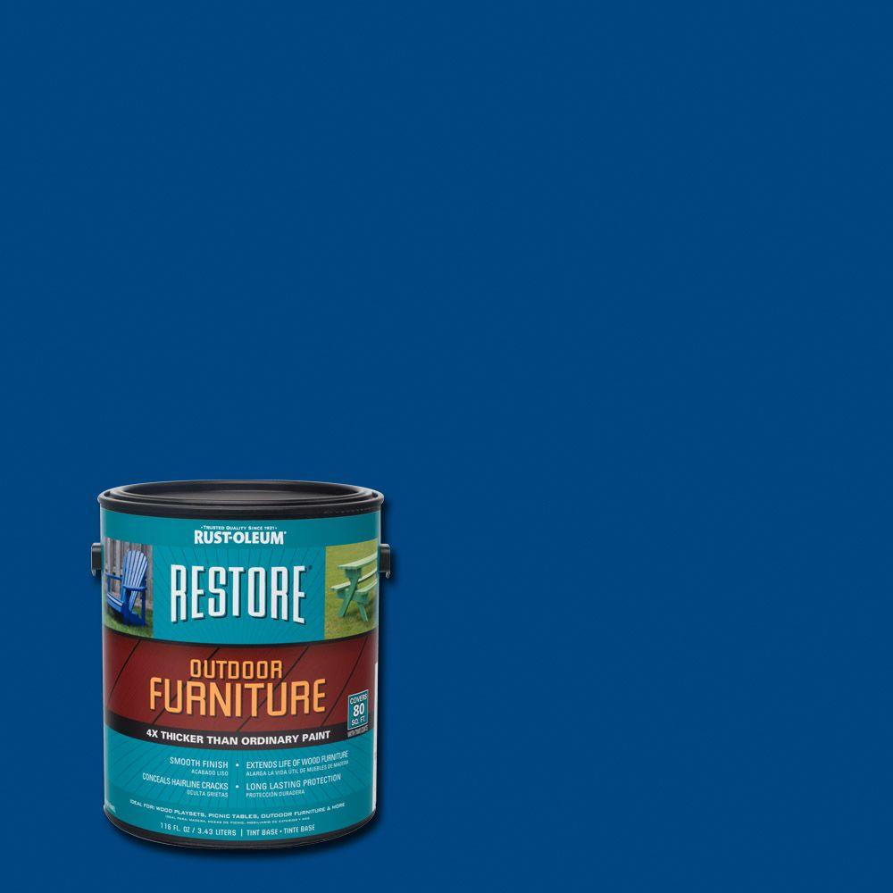 1 Gal. Deep Blue Outdoor Furniture Coating