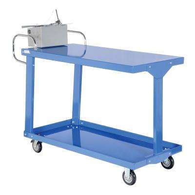 24 in. x 48 in. Easy Access Steel Stock Truck with Table