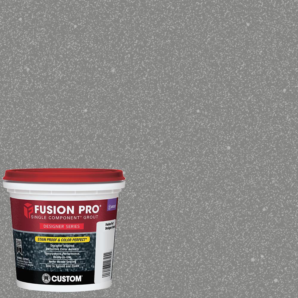 Fusion Pro #551 Moonshadow 1 qt. Designer Series Grout