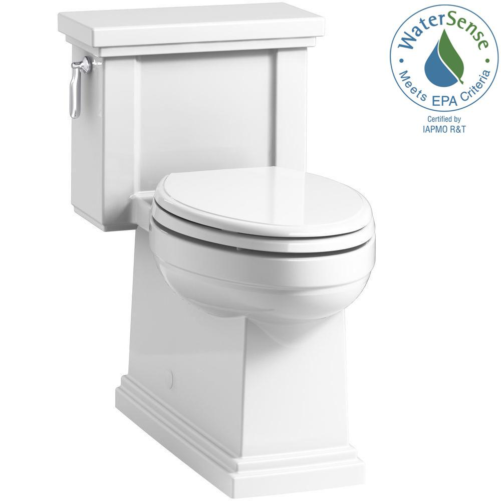Kohler Tresham 1 Piece 28 Gpf Single Flush Elongated Toilet With Aquapiston Technology In